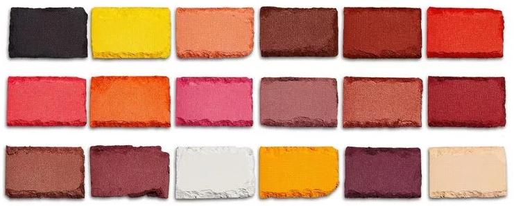 Paleta očných tieňov - I Heart Revolution Eyeshadow Chocolate Palette Cinnamon — Obrázky N4