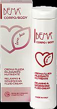 Voňavky, Parfémy, kozmetika Krém-fluid na telo - Bema Cosmetici Bema Love Bio Relaxing & Nourishing Fluid Cream