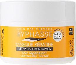 Voňavky, Parfémy, kozmetika Maska pre suché a matné vlasy - Byphasse Keratin Hair Mask