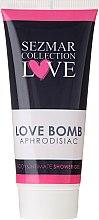 Voňavky, Parfémy, kozmetika Sprchový gél na intímnu hygienu - Sezmar Collection Love Aphrodisiac Shower Gel Love Bomb