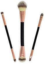 Voňavky, Parfémy, kozmetika Súprava štetcov - Makeup Revolution Flex & Go Brush Set