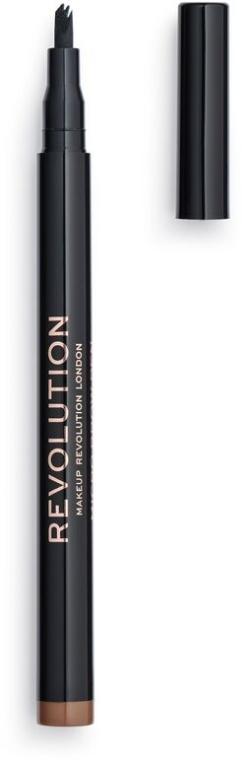 Ceruzka na obočie - Makeup Revolution Micro Brow Pen