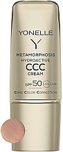 Voňavky, Parfémy, kozmetika Zmatňujúci pleťový krém s SPF50 - Yonelle Metamorphosis Hydroactive CCC Cream SPF50