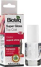 """Voňavky, Parfémy, kozmetika Spevňovač nechtov """"Super lesk"""" - Bioteq Super Gloss Top Coat"""
