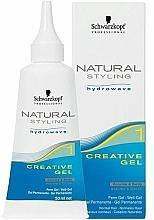 Voňavky, Parfémy, kozmetika Kreatívny gél na natáčanie vlasov - Schwarzkopf Professional Natural Styling Creative Gel №1
