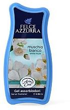 Voňavky, Parfémy, kozmetika Osviežovač - Felce Azzurra Gel Air Freshener White Musk