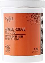 Kozmetický íl Červený - Najel Red Clay For Healthy Glow — Obrázky N3