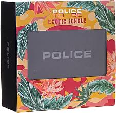 Voňavky, Parfémy, kozmetika Police To Be Exotic Jungle - Sada (edp/75ml + b/lot/100ml)