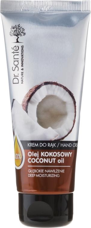 Hydratačný krém na ruky - Dr. Sante Hand Cream Coconut Oil