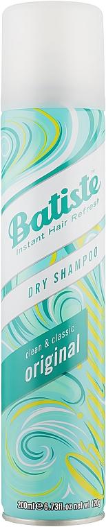 Suchý šampón - Batiste Dry Shampoo Clean and Classic Original