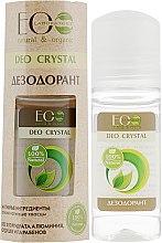 """Voňavky, Parfémy, kozmetika Telový dezodorant """"Prírodný"""" - ECO Laboratorie Deo Crystal"""
