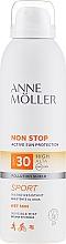 Voňavky, Parfémy, kozmetika Opaľovací telový sprej - Anne Moller Non Stop Active Sun Invisible Mist SPF30