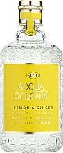 Voňavky, Parfémy, kozmetika Maurer & Wirtz 4711 Aqua Colognia Lemon & Ginger - Kolínska voda