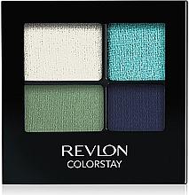Voňavky, Parfémy, kozmetika Perzistentné tiene na očí - Revlon Colorstay 16 Hour Eyeshadow Quad