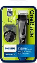 Voňavky, Parfémy, kozmetika Zastrihávač, holiaci strojček na tvarovanie brady a fúzov - Philips OneBlade Pro QP6510/20