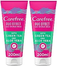 Voňavky, Parfémy, kozmetika Sada - Carefree Aloe Vera Intimate Gel (2xgel/200ml)