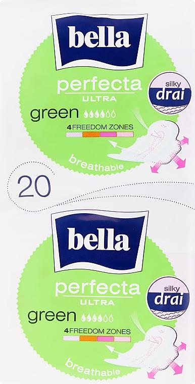 Hygienické vložky Perfecta Green Drai Ultra, 2x10 ks - Bella
