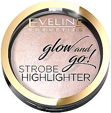 Voňavky, Parfémy, kozmetika Rozjasňovač na tvár - Eveline Cosmetics Glow And Go Strobe Highlighter