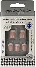 """Voňavky, Parfémy, kozmetika Falošné nechty """"Francúzska manikúra"""", 77968 - Top Choice Fashion Design"""