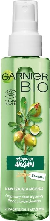 Výživná hmla na tvár s arganovým olejom - Garnier Bio Rich Argan Nourishing Mist