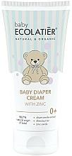Voňavky, Parfémy, kozmetika Detský krém pod plienku so zinkom - Ecolatier Baby Diaper Cream With Zinc