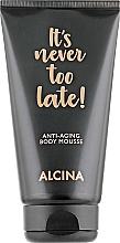 Voňavky, Parfémy, kozmetika Mušt na telo proti starnutiu - Alcina It's Never Too Late Anti-Aging Body Mousse