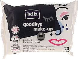 Voňavky, Parfémy, kozmetika Vlhké obrúsky na odstránenia make-upu, 20ks. - Bella
