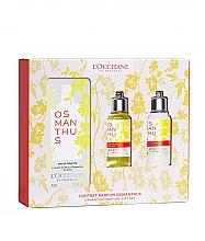 Voňavky, Parfémy, kozmetika Loccitane Osmanthus - Sada (edt/75ml+sh/gel/75ml+b/milk/75ml)