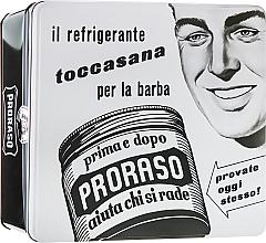 """Voňavky, Parfémy, kozmetika Sada - Proraso Classic Shaving Metal White """"Toccasana"""" (pre/cr/100ml + sh/cr/150ml + ash/cr/100ml)"""