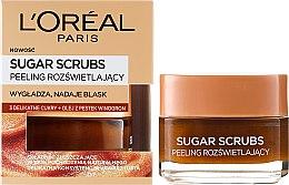 Voňavky, Parfémy, kozmetika Cukorový scrub na tvár - L'Oreal Paris Sugar Scrubs