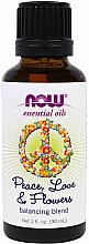 """Voňavky, Parfémy, kozmetika Esenciálny olej """"Zmes mier, láska a kvety"""" - Now Foods Essential Oils Peace-Love & Flowers Balancing Blend"""