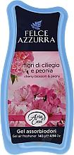 Voňavky, Parfémy, kozmetika Osviežovač - Felce Azzurra Gel Air Freshener Sweet Harmony Talc & Cherry