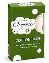 Voňavky, Parfémy, kozmetika Vatové tyčinky - Simply Gentle Organic Cotton Buds