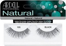 Voňavky, Parfémy, kozmetika Falošné riasy - Ardell Natural Lashes Black 105