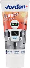 Voňavky, Parfémy, kozmetika Zubná pasta pre deti 6-12 rokov, robot - Jordan Junior Toothpaste