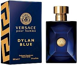 Voňavky, Parfémy, kozmetika Versace Pour Homme Dylan Blue - Deodorant sprej