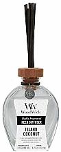 Voňavky, Parfémy, kozmetika Aromatický difúzor - WoodWick Reed Diffuser Island Coconut