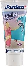 Voňavky, Parfémy, kozmetika Zubná pasta pre deti 6-12 rokov, delfín - Jordan Junior Toothpaste