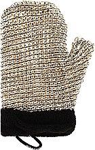 Voňavky, Parfémy, kozmetika Masážna špongia pre mužov - Suavipiel Black Men Sisal Glove
