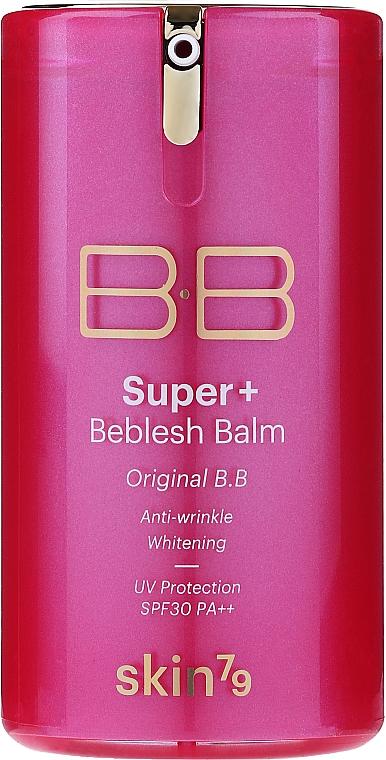 Multifunkčné BB krém - Skin79 Super Plus Beblesh Balm Triple Functions Pink BB Cream