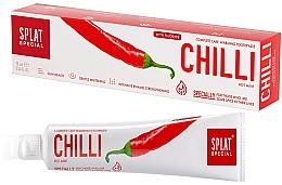 """Voňavky, Parfémy, kozmetika Komplexná zohrievajúca zubná pasta """"Chili"""" - Splat Special"""