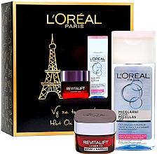 Voňavky, Parfémy, kozmetika Sada - L'Oreal Paris Revitalift Kit (cr/50ml + micellar/200ml)