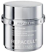 Voňavky, Parfémy, kozmetika Luxusný krém pre normálnu pleť - Klapp Repacell 24H Antiage Luxurious Cream Normal
