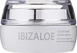 Voňavky, Parfémy, kozmetika Aktívny hydratačný krém - Ibizaloe Moisturizing Cream SPF15
