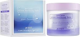 Voňavky, Parfémy, kozmetika Ultra upokojujúce očné vankúšiky na čistenie na tonizáciu - Petitfee&Koelf Azulene Ultra Soothing Pads