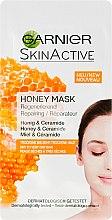 Voňavky, Parfémy, kozmetika Regeneračná tvárová maska s medom - Garnier SkinActive Honey Mask