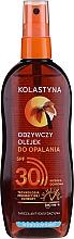 Voňavky, Parfémy, kozmetika Vodotesný ochranný olej na opaľovanie SPF30 - Kolastyna