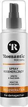 Voňavky, Parfémy, kozmetika Regeneračný sprej na vlasy - Romantic Professional