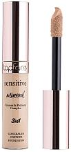 Voňavky, Parfémy, kozmetika Korektor - TopFace Sensitive Mineral 3 in 1 Concealer