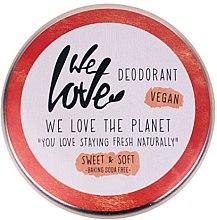 Voňavky, Parfémy, kozmetika Prírodný krémový dezodorant - We Love The Planet Deodorant Sweet & Soft